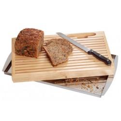 Planche à pain en bois naturel massif