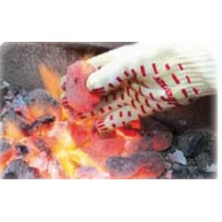 Gant anti-chaleur barbecue et waterproof