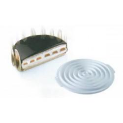 Moule insert décor silicone rond ou carré