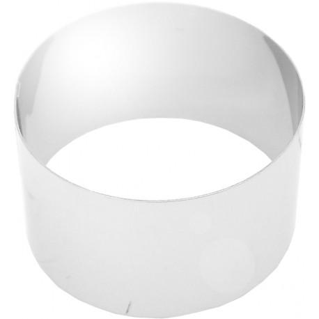 Cercle inox emporte piece