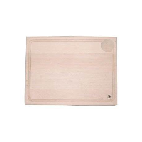 Planche a decouper en bois de hetre (40x30cm)