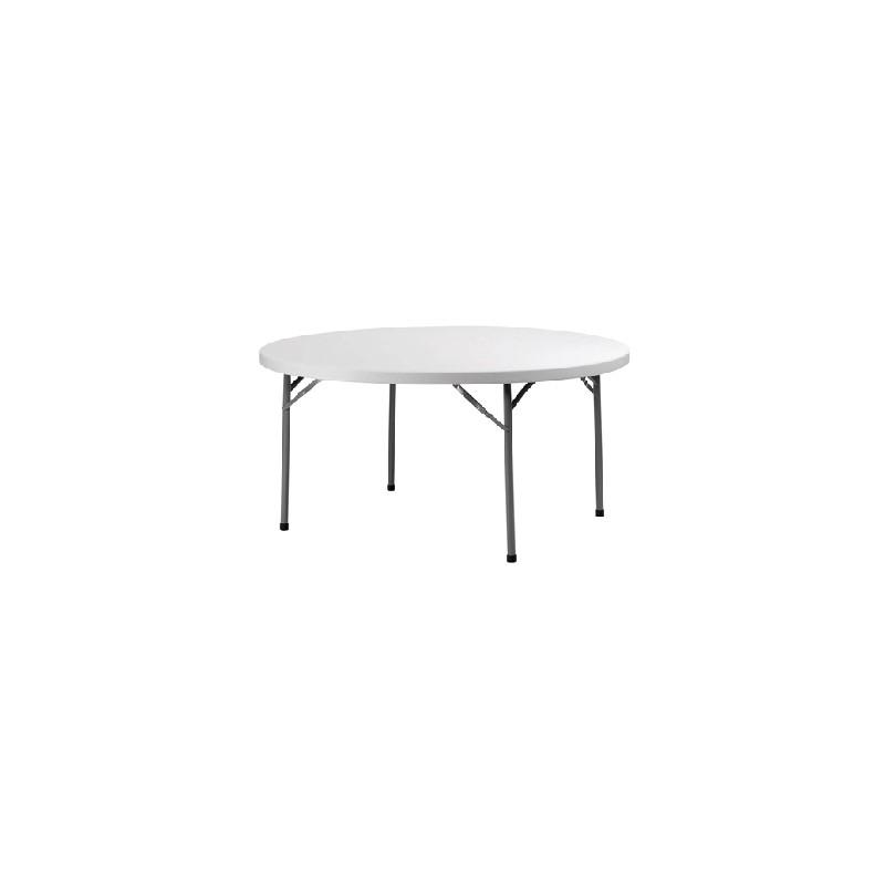 table ronde pliable et empilable. Black Bedroom Furniture Sets. Home Design Ideas