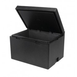 Conteneur isotherme cargo box en polypropylène 120 L