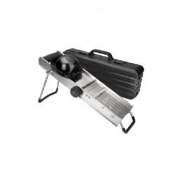 Mandoline inox avec protecteur LACOR 60357