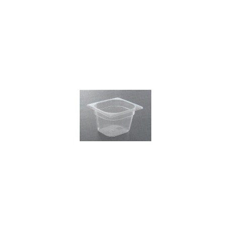 Bac gastronorme 1/6 polypropylène