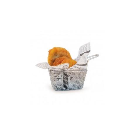 Mini panier à frites 1 portion