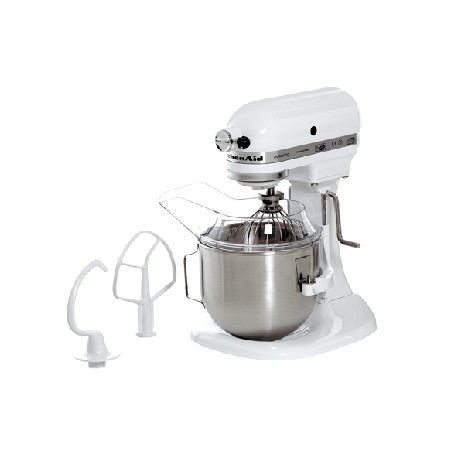 robot batteur m langeur kitchenaid 5kpm50ewh. Black Bedroom Furniture Sets. Home Design Ideas
