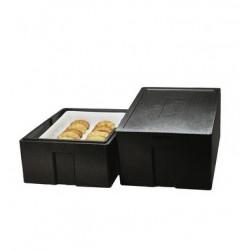 Polibox boîte viennoiserie/pâtisserie : conteneur isotherme polypropylène 82L