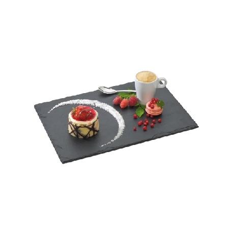 Assiette en ardoise naturelle (x6)