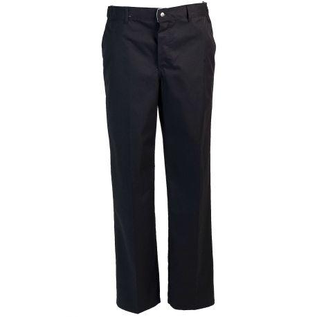Pantalon mixte de cuisinier Timéo noir ROBUR