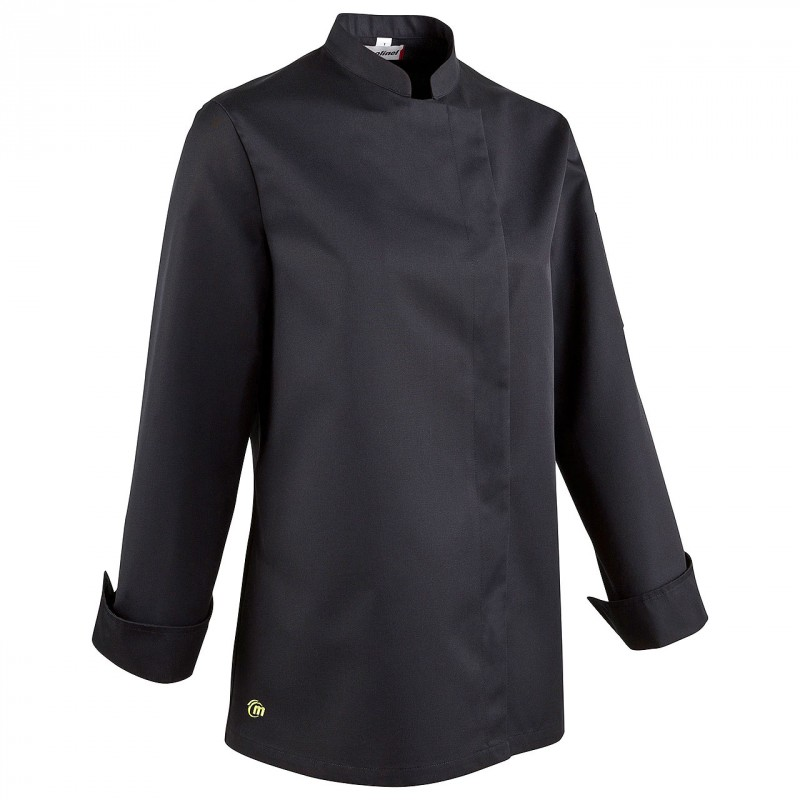 veste de cuisine femme molinel bama manches longues. Black Bedroom Furniture Sets. Home Design Ideas
