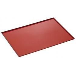 Plaque cuisson four revêtement silicone