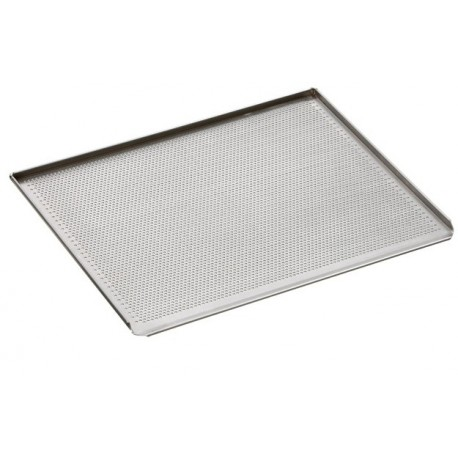 Plaque cuisson four perforee aluminium