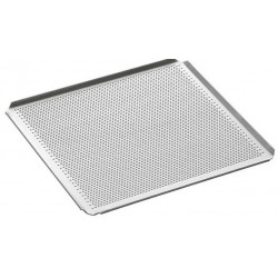Plaque perforée gn 2/3 aluminium
