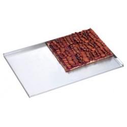 Plaque cuisson four en aluminium l600 x p400 mm