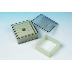 Boîte de 9 emporte pièces découpoirs carrés