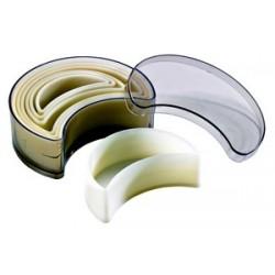 Boîte de 7 emporte pièces découpoirs croissants en polyglass