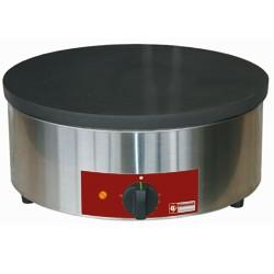 Crépière électrique ou gaz plaque 400 mm