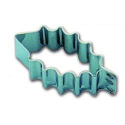 Emporte pieces decoupoir inox feuille de houx