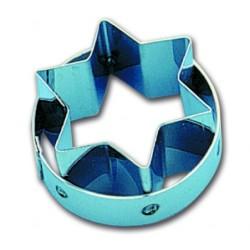 Emporte pièces découpoir inox étoile