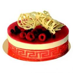 Cercle inox pour gâteau mousse hauteur 4 cm et demi