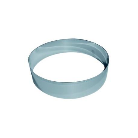Cercle inox pour vacherin hauteur 6 cm