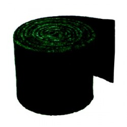 Rouleau abrasif recurant vert de 3 m