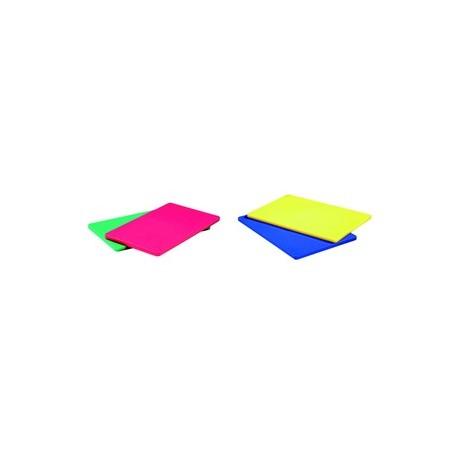Planche a decouper en polyethylene de couleur (60x40cm)