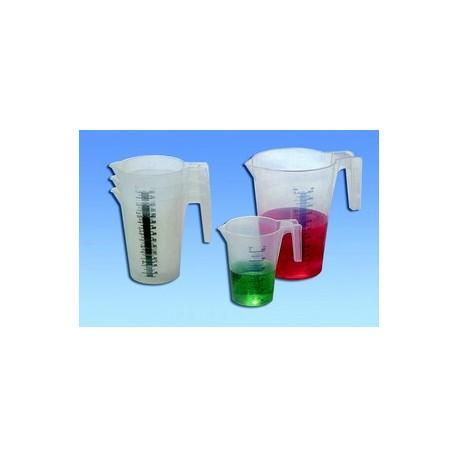 Pot gradue plastique, mesureur ingredients cuisine