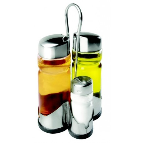 Menagere 4 pieces poivre sel huile vinaigre - Menagere de table ...