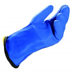 Paire de gant pvc étanche isolant jusqu'à -20°c