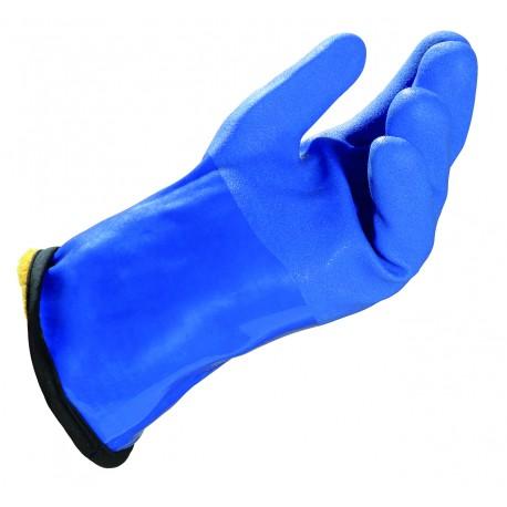 Paire de gant pvc etanche isolant jusqu'a -20°c