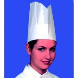 Toque de chef papier (x10)