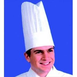 Toque de chef non tissée, traitée (x10)