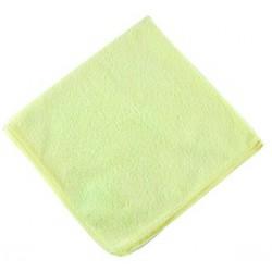 Lavette micro-fibre jaune (x10)