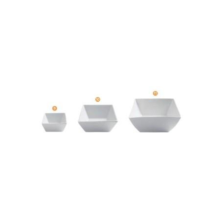 Coupelle porcelaine blanche CLELIA (x12) et (x6)