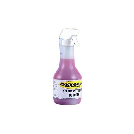 Nettoyant vitres de fours/flacon avec pulverisateur 0.5l