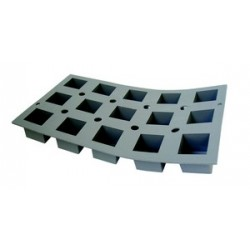 Moule silicone elastomoule 8 cubes