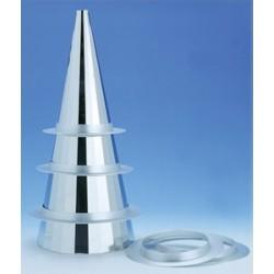 Croquembouche inox, cone de montage piece montee patisserie