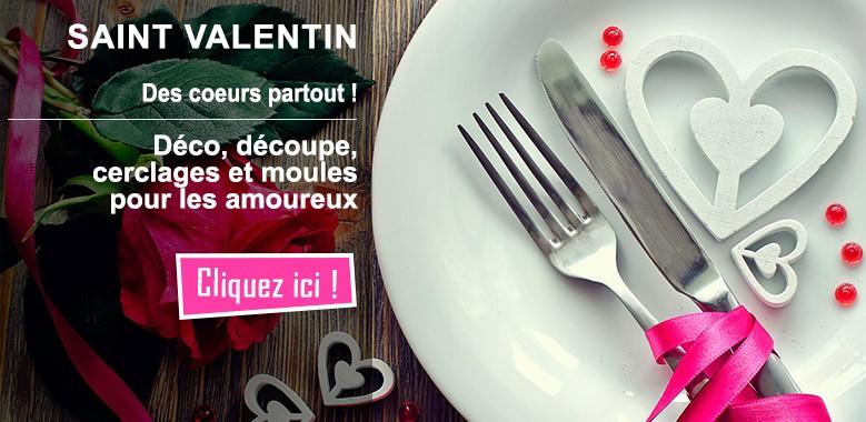 Des coeurs partout en cuisine, spécial amoureux de la Saint Valentin !