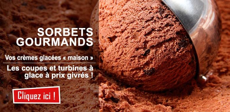Vos sorbets et glaces à la maison, comme les pros !