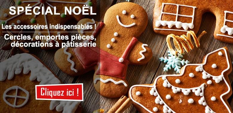 Spécial Noël : les décorations et accessoires spécial bûches et friandises !
